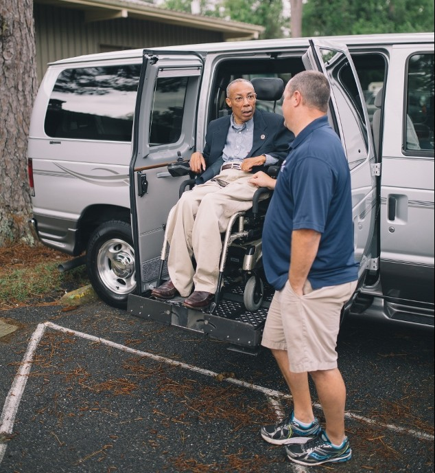wheelchair van conversion, vehicle conversion