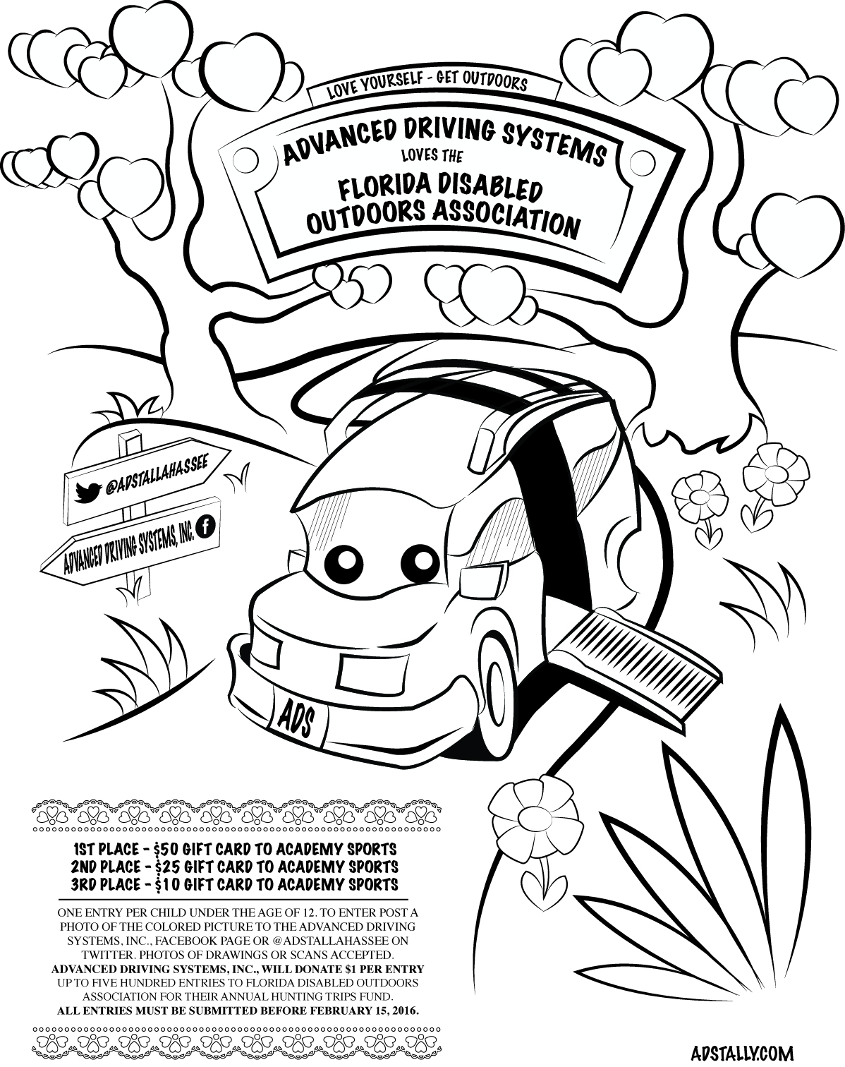 valentine u0026 39 s day coloring contest